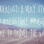 Viajar é preciso!