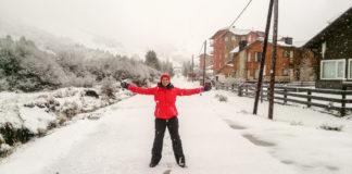 neve em Bariloche cerro catedral