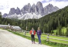 Santa Madalena Funes Dolomitas Italia