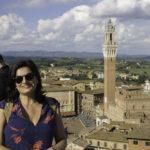 Um Dia em Siena - Roteiro