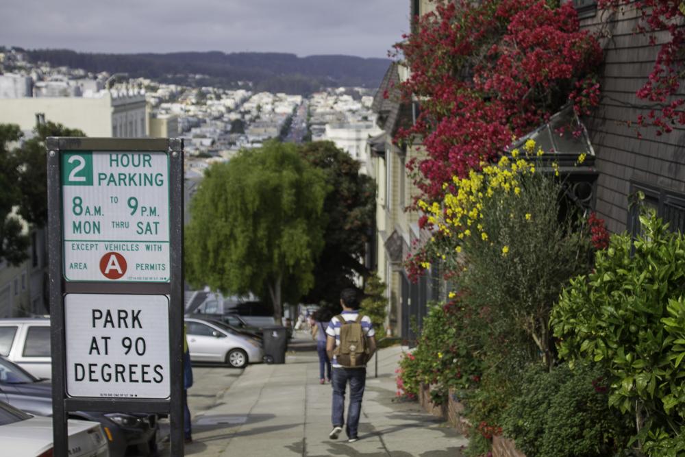 São Francisco estacionamento
