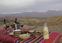 snack during Atacama tours
