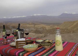snack during Atacama tours