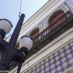 Centro Histórico de Santos na parada de Cruzeiro