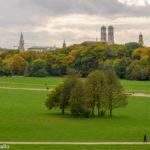 Munique: Englischer Garten, o Ibira deles