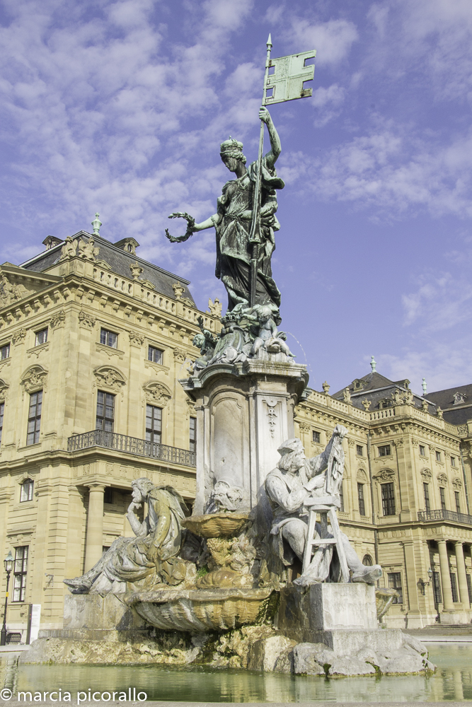 Wurzburg palácio