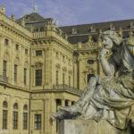 Palácio de Würzburg na Rota Romântica Alemã