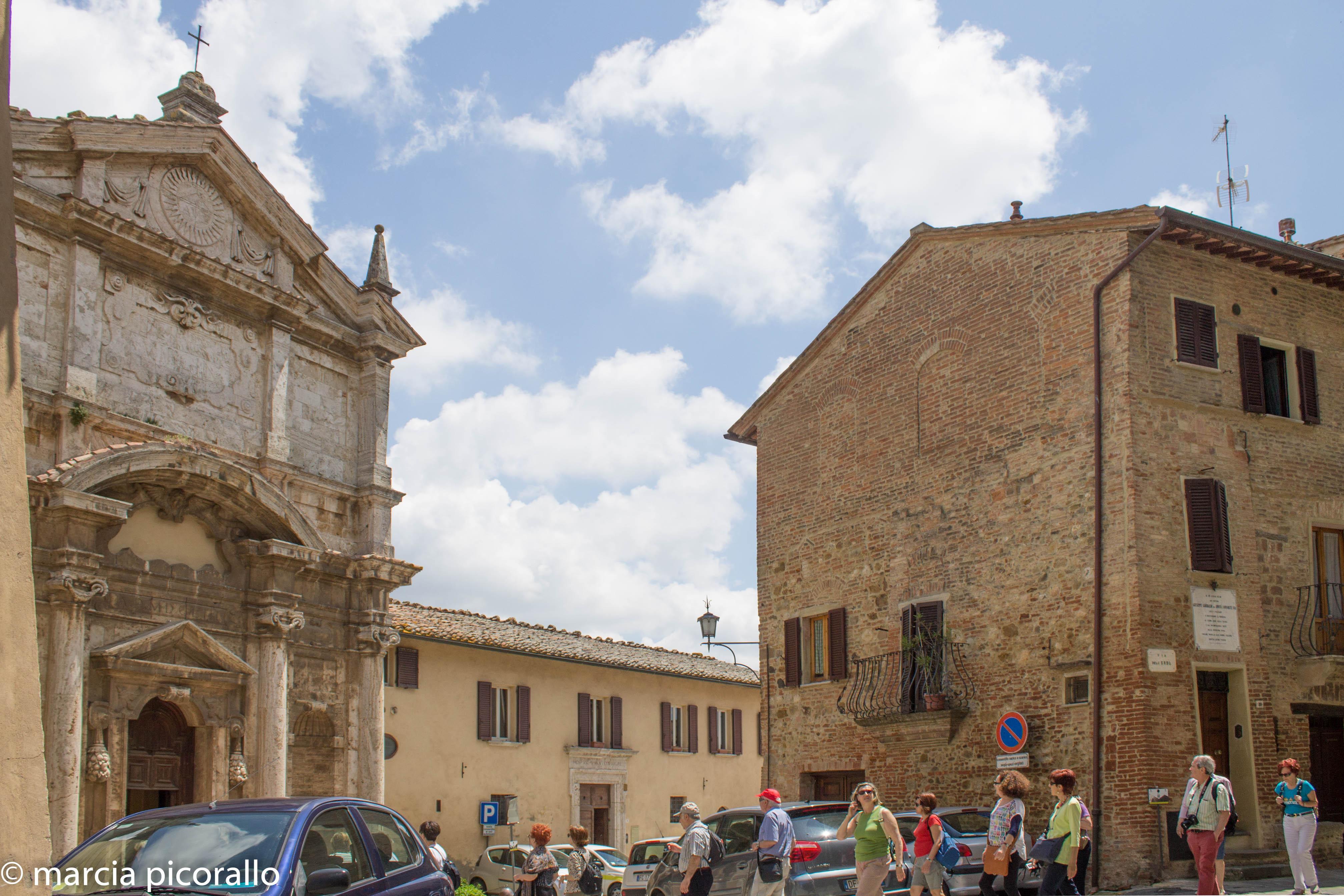 Montepulciano igreja santa Lucia