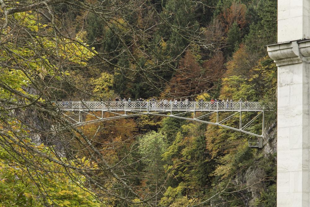 Neuschwanstein-ponte castelo-Alemanha