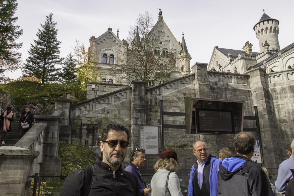 Neuschwanstein-castelo-filas