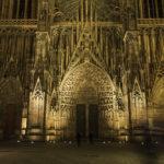 A catedral de Estrasburgo, a Notre Dame da Alsácia