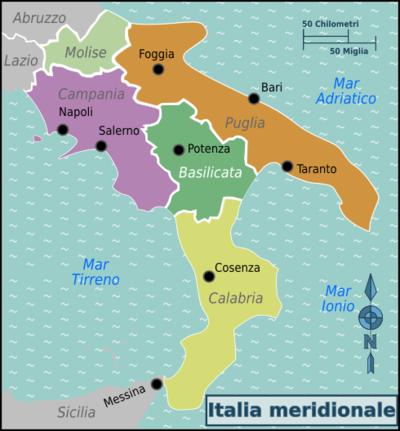 Roteiros de viagem Sul da Itália
