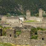 Os Castelos de Bellinzona na Suíça