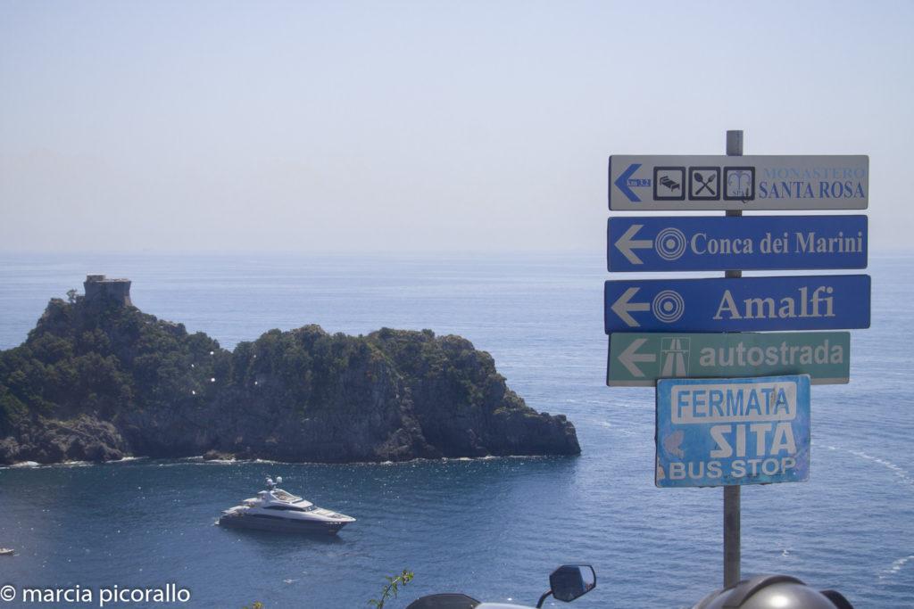 dirigir na Itália autoestrada