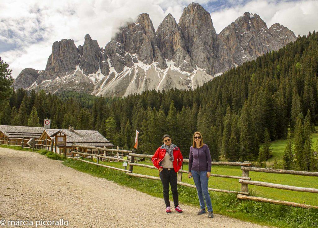 Funes Montanhas Dolomitas