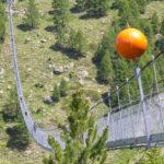 Randa e sua ponte suspensa, na Suíça
