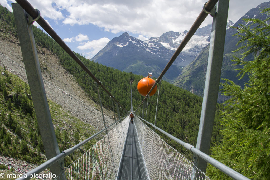 ponte suspensa na Suíça, Randa
