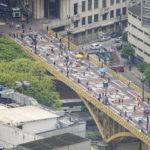 Pontos turísticos no centro de São Paulo