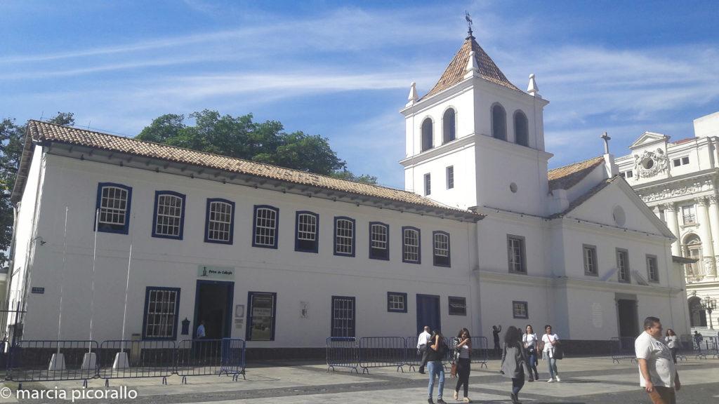 pontos turísticos do centro de São Paulo. Pateo Colégio