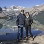 Os Lagos do Canadá ao longo da Icefields Parkway