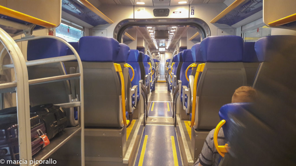 Regras de Bagagem de Trem na Europa