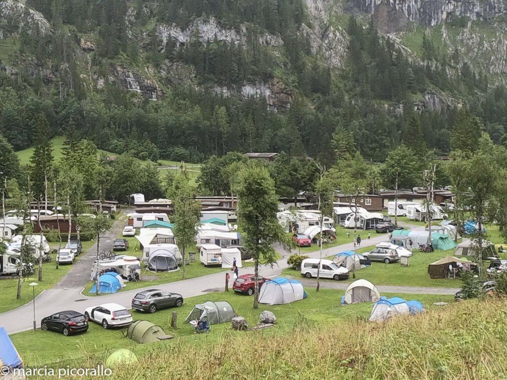 Vale de Lauterbrunnen camping