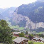 O Vale de Lauterbrunnen na Suíça