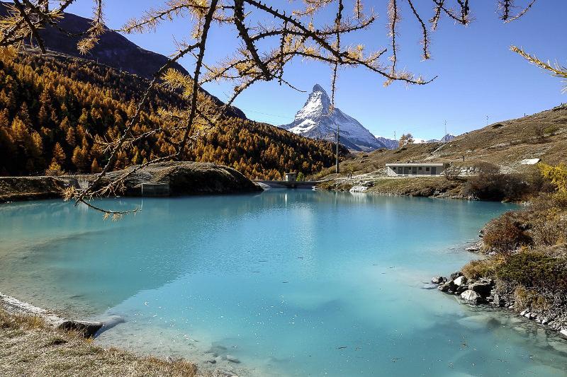 trilhas em Zermatt