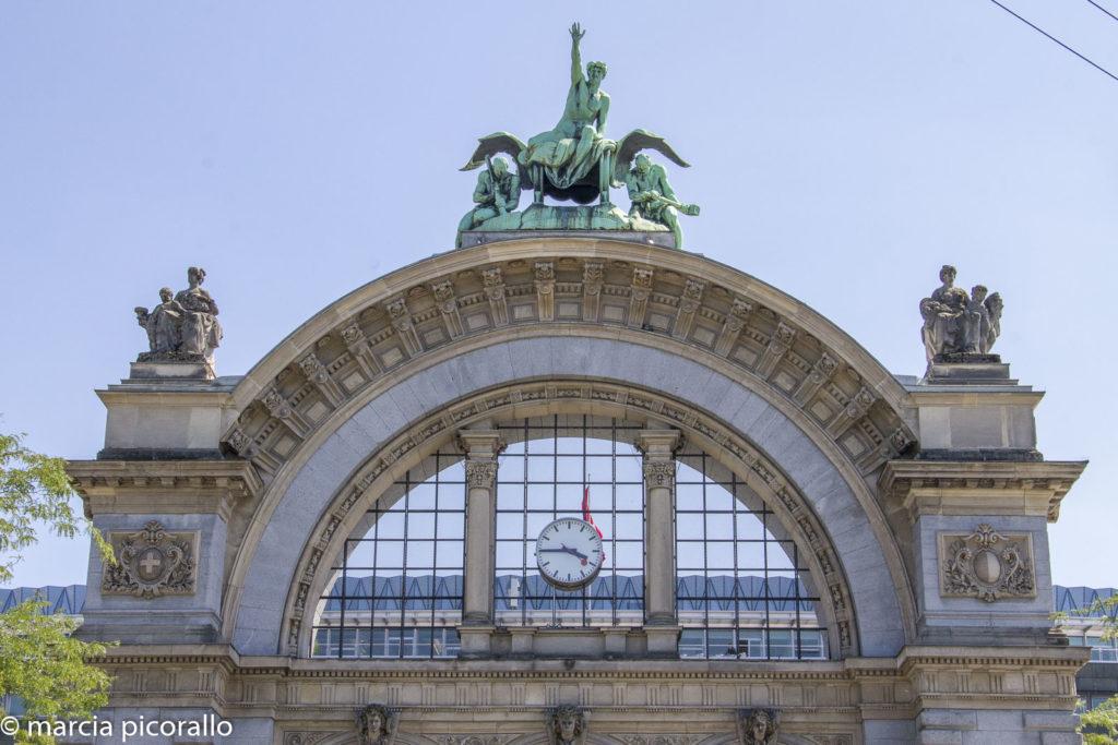Lucerna, estação trem