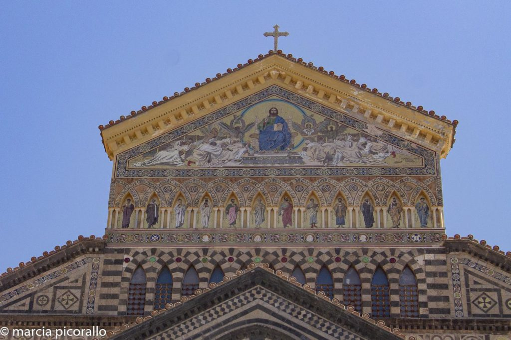 fachada da catedral de amalfi