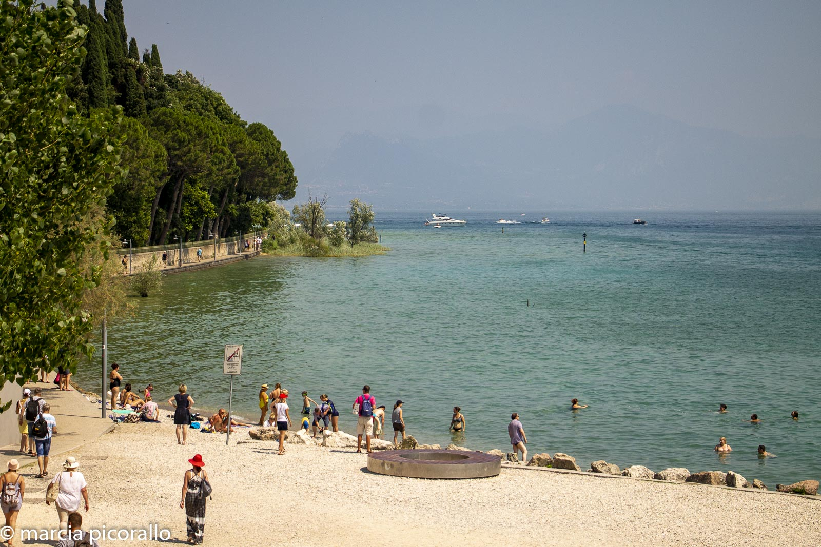 praias do lago de garda