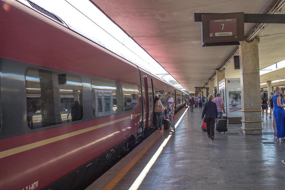 Bagagem de Trem na Europa