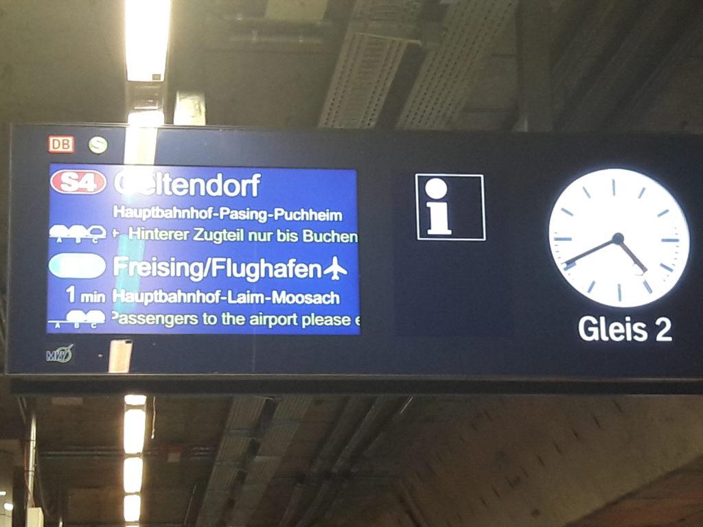 europa de trem