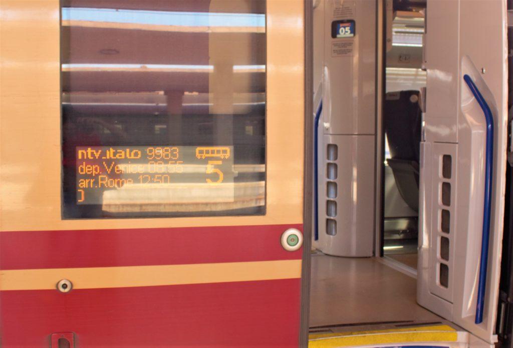 viagem trem na Europa