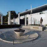 O Museu Olímpico de Lausanne, Suíça